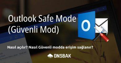Outlook Güvenli Mod